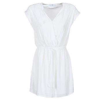 textil Dam Korta klänningar Le Temps des Cerises FORKATON Vit
