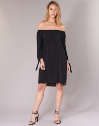 textil Dam Korta klänningar LPB Woman ARIN Svart