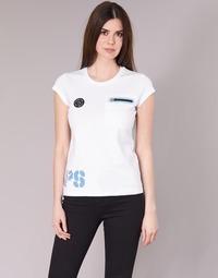textil Dam T-shirts Philipp Plein Sport SITTIN OVER HERE Vit
