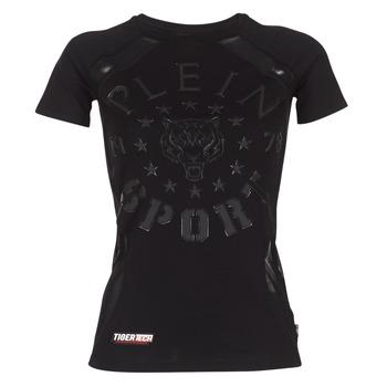 textil Dam T-shirts Philipp Plein Sport FORMA LINEA Svart