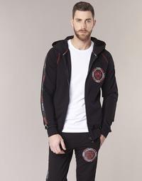 textil Herr Sweatshirts Philipp Plein Sport FLY HIGH Svart