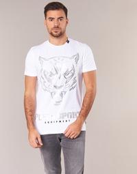textil Herr T-shirts Philipp Plein Sport EDBERG Vit / Silver
