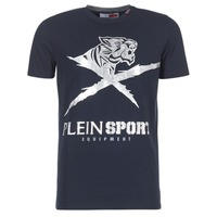 textil Herr T-shirts Philipp Plein Sport BORIS Marin / Silver