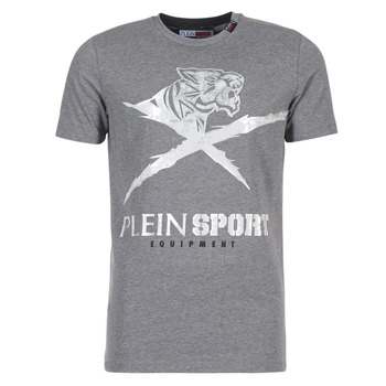 textil Herr T-shirts Philipp Plein Sport BORIS Grå / Silver