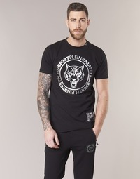textil Herr T-shirts Philipp Plein Sport IVAN Svart / Silver