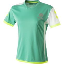 textil Dam T-shirts Hummel Maillot Femme  Trophy vert/blanc