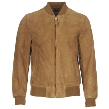 textil Herr Skinnjackor & Jackor i fuskläder Schott LC301 Cognac