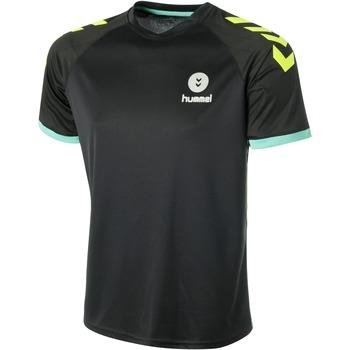 textil Herr T-shirts Hummel Maillot  Trophy noir/vert/jaune