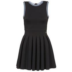 textil Dam Korta klänningar Manoush ATHLETE Svart