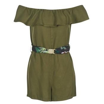 textil Dam Korta klänningar Guess RESPUNNI Kaki