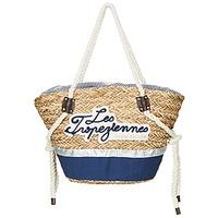 Väskor Dam Shoppingväskor Les Tropéziennes par M Belarbi AUDENGE Beige / Marin