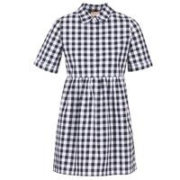 textil Dam Korta klänningar Moony Mood IKAMAL Vit / Svart