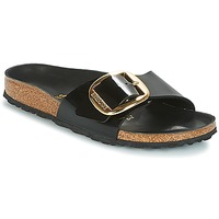Skor Dam Tofflor Birkenstock MADRID BIG BUCKLE Svart