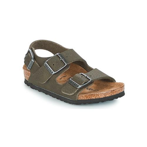 detaljer för detailing handla bästsäljare Birkenstock MILANO Grön - Fri frakt   Spartoo.se ! - Skor sandaler ...
