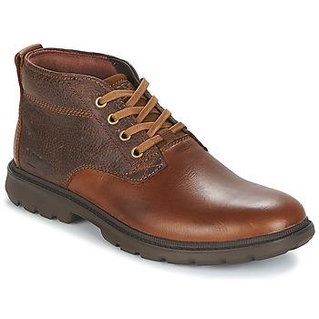 Skor Herr Boots Caterpillar TRENTON Brun