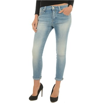 textil Dam Jeans boyfriend Meltin'pot LAKITA D1669 UK420 Blå