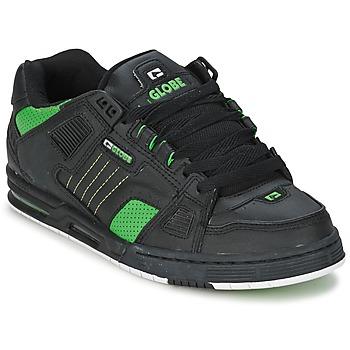 Skor Herr Sneakers Globe SABRE Svart / Grön