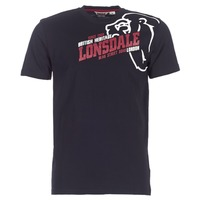 textil Herr T-shirts Lonsdale WALKLEY Svart