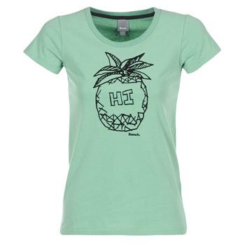 textil Dam T-shirts Bench BLWG002642 Grön