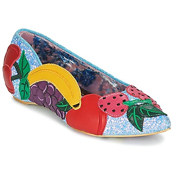 Skor Dam Ballerinor Irregular Choice BANANA BOAT Blå
