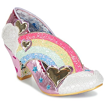 Skor Dam Pumps Irregular Choice SUMMER OF LOVE Rosa