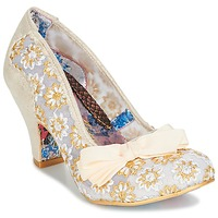 Skor Dam Pumps Irregular Choice PALM COVE Beige