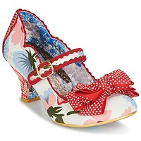 Skor Dam Pumps Irregular Choice BALMY NIGHTS Vit / Röd