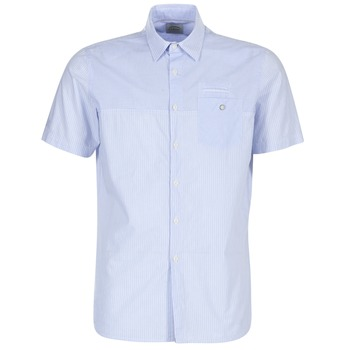textil Herr Kortärmade skjortor Oxbow K1CAMINO Blå / Himmelsblå
