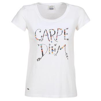 textil Dam T-shirts Oxbow K1TEANA Vit