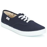 Skor Sneakers Victoria INGLESA LONA Marin