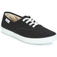 Skor Sneakers Victoria INGLESA LONA Svart