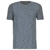 textil Herr T-shirts Under Armour THREADBORNE SEAMLESS SS Grå