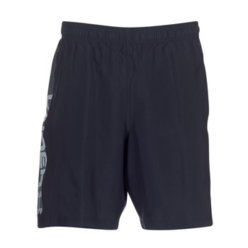 textil Herr Shorts / Bermudas Under Armour WOVEN GRAPHIC WORDMARK SHORT Svart