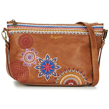 Väskor Dam Handväskor med kort rem Desigual BOLS_CATANIA AMBER Kamel