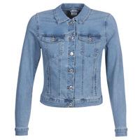 textil Dam Jeansjackor Vero Moda VMHOT SOYA Blå