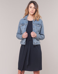 textil Dam Jeansjackor Vero Moda VMHOT SOYA Blå / Ljus