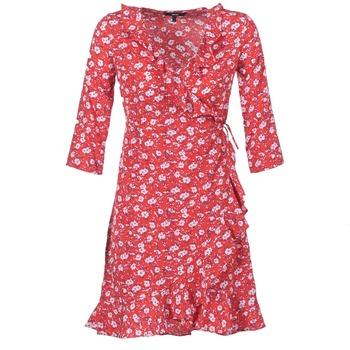 textil Dam Korta klänningar Vero Moda VMMOLLY Röd