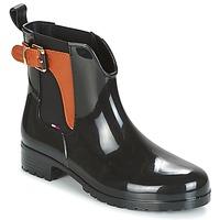 Skor Dam Boots Tommy Hilfiger OXLEY Svart