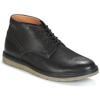 Skor Herr Boots Clarks BONNINGTON TOP Svart / Leather