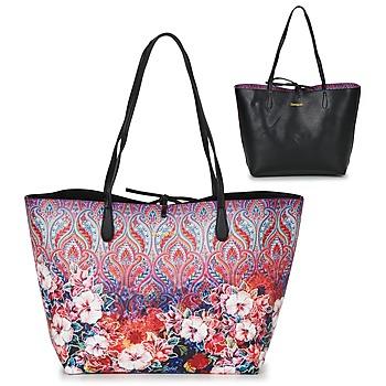Väskor Dam Shoppingväskor Desigual BOLS_CAPRI FREYA Rosa / Flerfärgad