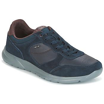 Skor Herr Sneakers Geox U DAMIAN Blå