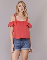 textil Dam Blusar Moony Mood IFARANDOL Röd