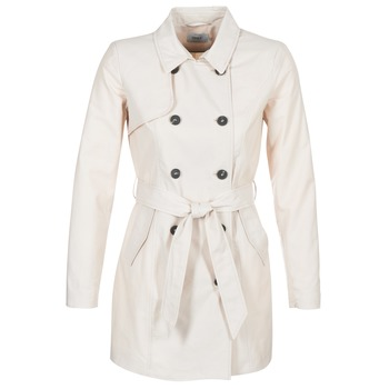 textil Dam Trenchcoats Only LUCY Beige