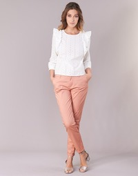 textil Dam Chinos / Carrot jeans Only PARIS Rosa