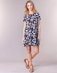 textil Dam Korta klänningar Casual Attitude IYURTOLAL Blå