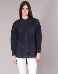 textil Dam Skjortor / Blusar Only IRMA Marin