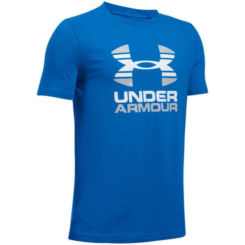 textil Barn T-shirts Under Armour UA Two Tone Logo SS Kids Tee 1298292-907