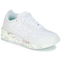 Skor Barn Sneakers Asics HYPER GEL-LYTE GS Vit / Rosa / Grön