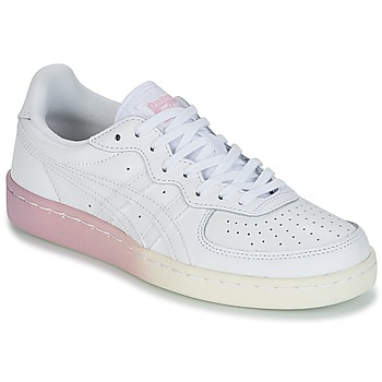 Skor Dam Sneakers Onitsuka Tiger GSM LEATHER Vit / Rosa