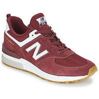 Skor Herr Sneakers New Balance MS574 Bordeaux